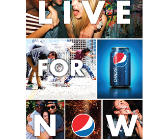 Pepsi's 'Live for Now'