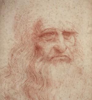 Leonardo, Self-Portrait-yoga