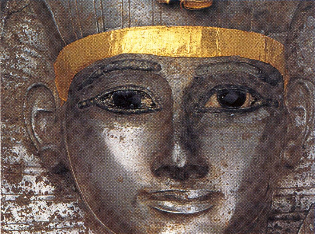 From the Coffin of Psuennes I - Detail -  21st Dynasty,   Egyptian Museum, Cairo
