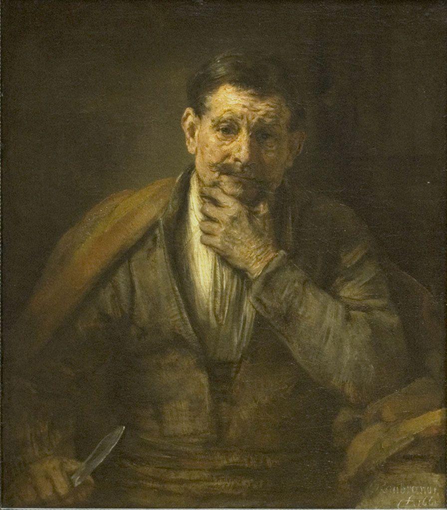 Rembrandt van Rijn - Saint Bartholomew (1661)
